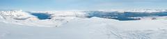 Lille Blmann og Troms (Jens Kristian Nilsen) Tags: panorama snow ski norway troms randonee offpiste lilleblmann