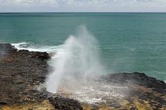 Spouting Horn 5 (Journey of A Thousand Miles) Tags: seascape hawaii kauai 2012 poipubeachpark