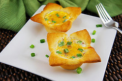 Crescent Egg Puffs (Kitchen Life of a Navy Wife) Tags: breakfast eggs crescentrolls