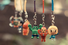 tokidoki x Marvel Frenzies!!! (Baroks..) Tags: canon toy toys 50mm ironman marvel punisher humantorch invisiblewoman tokidoki thehulk frenzies 5dmk2