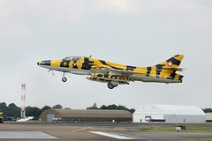 HB-RVV / J-4206 Fairford 14/07/11 (Andy Vass Aviation) Tags: tiger hunter fairford jetwarbird hbrvv j4206