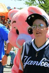 Pink Carebear (JVierno77) Tags: gay ny newyork festival lesbian parade lgbt statenisland pride2012