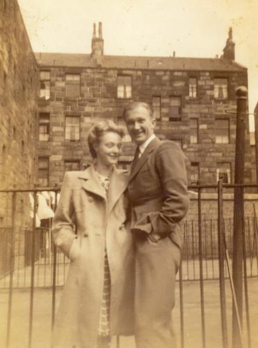 Robert and Majorie Meek,1949