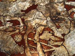 Horse (SanguineSeas) Tags: italy horse brown penis floor cathedral sienna siena marble duomo
