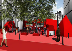 House of Switzerland UK 2012_Cathedral Square (HOUSE OF SWITZERLAND) Tags: switzerland olympicgames swisshouse gamedesign london2012 houseofswitzerland swissgamelounge