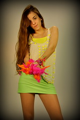 (azulramos) Tags: portrait fashion studio design neon photoshoot fashionphotography models makeup fluor fluo fashionphotoshoot indumentary