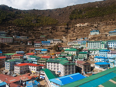 Namche (everytin irie) Tags: nepal namche everestbasecamp easternregion namchevdc