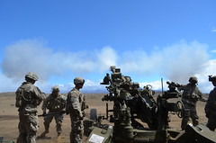 M777 cannon (The U.S. Army) Tags: 2ndbattalion 25thinfantrydivision 2ndbrigadecombatteam 11thfieldartilleryregiment m777cannon
