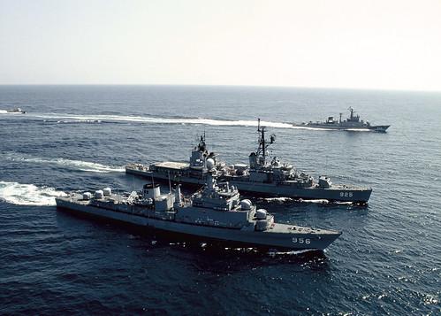 2006년3월13일 해군 함정기동