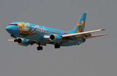 Special Livery, Alaska Airlines - Follow Me to Disneyland, Boeing 737-400 (Ron Monroe) Tags: alaskaairlines disneyland boeing 737 lax airliners airlines klax n791as