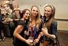 Aine, Rachel Nolan and Rachel Carmady at the launch of Strawberry Fest in The Grand Social. Strawberry Fest happens over The June Bank Holiday Weekend in Enniscorthy Wexford, hosting bands such as Status Quo, Maverick Sabre, Bressie and The Saw Doctors. Photo: Dara Munnis