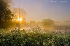 Misty Magic (jactoll) Tags: uk morning england mist rural sunrise river landscape dawn countryside spring nikon worcestershire nikkor avon vr 2012 worcs eckington 1685mm d7000 jactoll