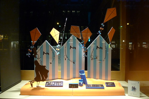 Vitrine de la Maison du Chocolat - Paris, mai 2012