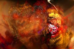 Monkey King (Jonathan Kos-Read) Tags: china beijing fisheye motionblur slowshutter 北京 choice 中国 chineseopera pekingopera beijingopera monkeyking rearcurtainflash 京剧 孙悟空 rearsyncflash zenitar16mmfisheyef28