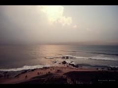 [137/366] (puzzlescript) Tags: park sea sun beach rocks vizag kesari visakhapatnam tennati ravigopal