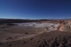 Valle de la Luna (Guillermo Puglia) Tags: chile moon desert salt valle luna valley valledelaluna footsteps desierto sal calama sanpedrodeatacama pisadas antofagasta moonvalley