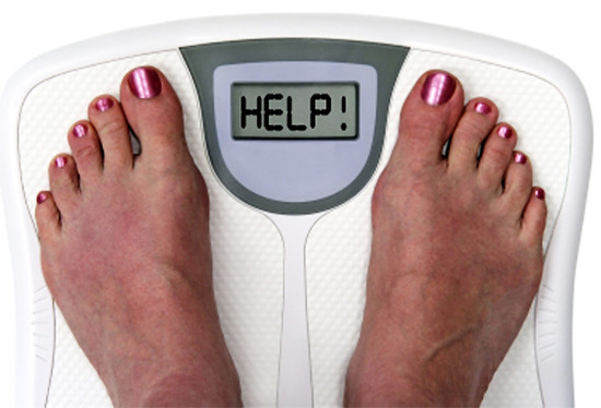 Our weighing scale screams HELP!