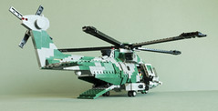 EH-191 HC2N (8) (Aleksander Stein) Tags: force lego military air transport utility assault helicopter camouflage nordic sar whirlwind ndc csar eh191 mediumlift hc2n