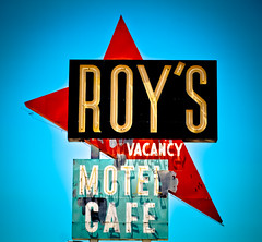 Roy's Motel and Cafe (Route 66) (TooMuchFire) Tags: signs vintage route66 neon americana amboy neonsigns motels lightroom oldsigns vintagesigns vintageneonsigns oldmotels roysmotel roysmotelcafe roysmotelandcafe route66signs toomuchfire route66neonsigns