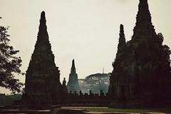 Smaller Prangs of the Wat Chai Watthanaram - Ayutthaya, Thailand (siddharthx) Tags: thailand temple khmer buddhist unescoworldheritagesite buddhisttemples chaophrayariver 1630 ayutthya watchaiwatthanaram phranakhonsi worldtrekker ayutthayaprovince kingprasatthong chedishapedchapel