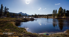 Annular Solar Eclipse over Tuolumne Meadows, Yosemite (Kristal Leonard) Tags: eclipse yosemite solareclipse tuolumnemeadows annularsolareclipse