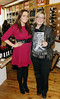 Gemma Kenny and Andrea Eggers at the opening of Blackrock Cellar in Blackrock village