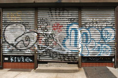 ? (Luna Park) Tags: nyc ny brooklyn graffiti gate fade lunapark marty sme wto rolldown kruze kider