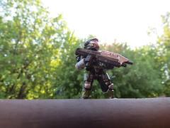 Going outside (xX Martius Xx) Tags: lego rifle halo assault reach megabloks spartan mega spartans unsc bloks haloreach