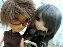 Their relationships 1 (krissy_sakura ) Tags: boy girl dolls sage pullip rozen maiden ryou kirai taeyang suigintou krissysakura