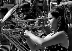 street orchestra Brussels (NOel Sissau) Tags: brussels blackandwhite bw music nikon bruxelles orchestra muziek brussel zwart wit musique orchestre orkest d3100