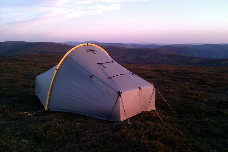 Scarp 1 with Lochnagar beyond
