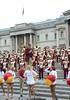 Img284837nx2 (veryamateurish) Tags: london trafalgarsquare cheerleaders band usc universityofsoutherncalifornia girl woman miniskirt
