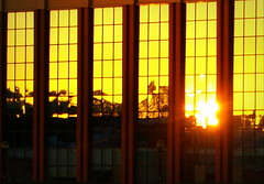 Golden reflectons at Preston (Tony Worrall Foto) Tags: uk sunset england sun reflection building glass beauty lines gold golden evening nice shine northwest image dusk north stock shapes lancashire preston british sunlit tustin settingsun lancs prestondocks ashtononribble prestonian 2012tonyworrall
