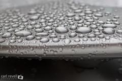 Water Droplets (Sprogz) Tags: water car grey beads droplets drops wash subaru wax impreza wrx