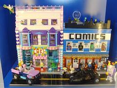 I LUG NY Queens LUG Showcase Window, June 8, 2012 (notenoughbricks) Tags: lego legostarwars lug ilugny legolugshowcase legoninjago legoalienconquest legocmf legofriends legoavengers elmhurstlegostore
