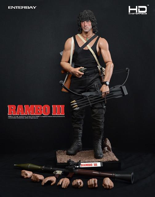ENTERBAY - 1/4 HD Masterpiece:Rambo III 藍波