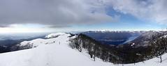 Winter above the Como Lake (supersky77) Tags: schnee lake snow como alps alpes lago neve alpen alpi lombardia comolake lagodicomo lombardy lario lombardie prealpi lombardei triangololariano boletto bolettone
