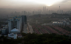 KL dawn (n.a.) Tags: morning buildings cityscape towers highrise blocks