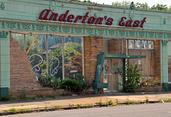 Anderton's East (Papahib) Tags: architecture memphis midtown demolished andertons midcentury
