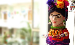 fridita (pp azulado) Tags: flores art de mexico arte map frida carton museo papel artistica popular artes ciudaddemexico pintura artista centrohistorico piata artesania colorido mexicanas pintora artesano kalho cartoneria