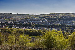Broadway from the Common (thenickyroberts) Tags: mountains skyline southwales wales nikon valleys rct rhondda rhonddafach nikond3000 rhonddafawr
