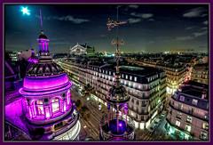 Printemps Paris (snaphappyd) Tags: paris france rooftop landscape cityscape nightscape nightime printemps hdr photomatix