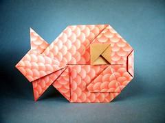 Fish - Mindaugas Cesnavicius (Rui.Roda) Tags: fish pez origami peixe poisson papiroflexia mindaugas papierfalten cesnavicius