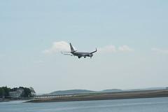 IMG_2485 (wmcgauran) Tags: boston airplane airport aircraft aviation american boeing bos 737 eastboston kbos n930an