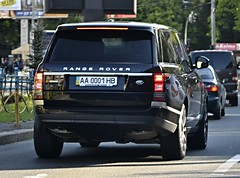 AA0001HB (Vetal 888 aka BB8888BB) Tags: ukraine rangerover 0001 kyiv aa licenseplates  gelndewagen   aa0001hb