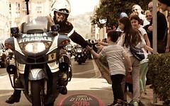 La 99 edizione del Giro d'Italia in compagnia della Polizia Stradale (newz.it) Tags: catanzaro giroditalia praiaamare poliziastradale
