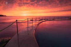 Mother's Day Madness (Brian Bornstein) Tags: ocean clouds sunrise waves sydney nsw sunburst bronte rockpool brontebeach brontebaths canon6d brontebeachrockpool brianbornstein