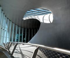 [Curves & Lines] (pienw) Tags: shadow lines arnhem curves railway railwaystation modernarchitecture unstudio benvanberkel