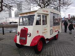 1938 Commer N1 (Neil 02) Tags: liverpool van albertdock catering icecreamvan merseyside commern1 therealdairyicecreamcompany dwm698