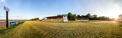 last sunlight on the horse race track (diwan) Tags: city light panorama sun green nature canon germany geotagged deutschland eos view place stitch outdoor natur platform magdeburg stadt sonne panoramix rasen 2016 fotogruppe ptgui saxonyanhalt sachsenanhalt tribne horseracetrack spiegelreflexkamera herrenkrug lastsunlight canoneos650d magdeburgergalopprennbahn fotogruppemagdeburg geo:lon=11685153 geo:lat=52152286